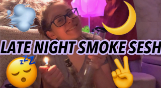 Late Night Smoke Sesh | Brittany Allison