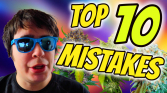 TOP 10 MISTAKES TO AVOID WHEN GROWING CANNABIS!