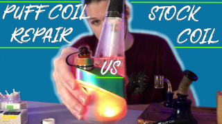 Puffco Peak || Puff Coil Repair || Vs Stock Coil || FLMMJ