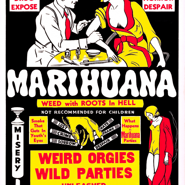 Marihuana - 1936 Movie Similar to Reefer Madness - Smoke A Bowl + Watch With Friends + PLEASE SHARE