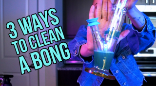 Three Ways To Clean a Bong