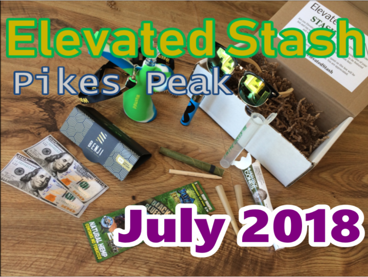 Elevated Stash Pikes Peak July 2018 Unboxing & Review