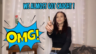 STORY TIME / SMOKE WITH ME | WE ALMOST GOT CAUGHT !
