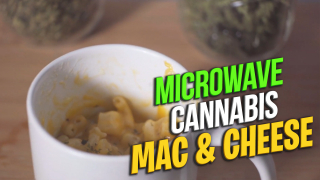 How to make Cannabis Mac & Cheese | Baked Mac & Cheese | Microwave method