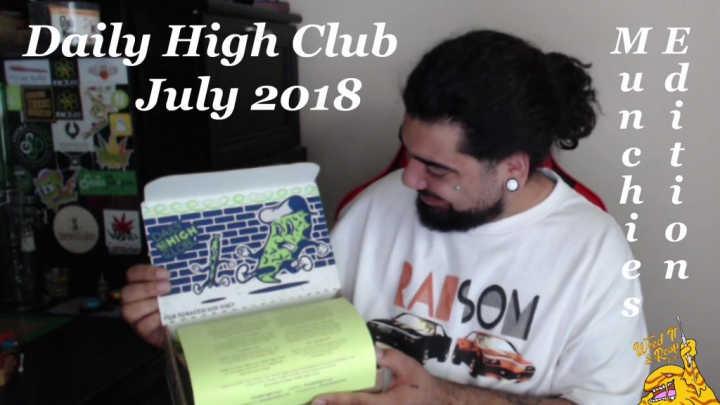 MUNCHIES - Daily High Club Unboxing (July 2018)