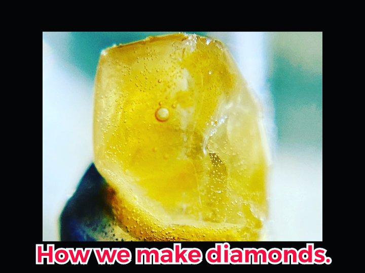 How to make your own THCA Diamonds