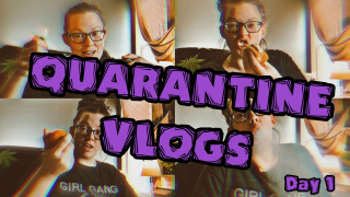 Quarantine Vlogs I Day 1 Eating Vitamin C & Edibles