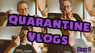 Quarantine Vlogs I Eating Vitamin C & Edibles