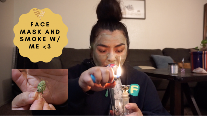 My First Video  Get To Know Me  Smoke With Me (: