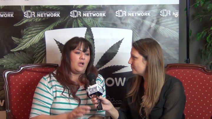 The Bud Show in collaboration with CRW Network interview Taiya with Crooked Cactus CBD at the WEIC event in Vegas.