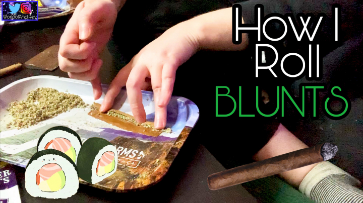 HOW TO ROLL A BLUNT: ANDI RAY'S WAY (SUSHI METHOD)