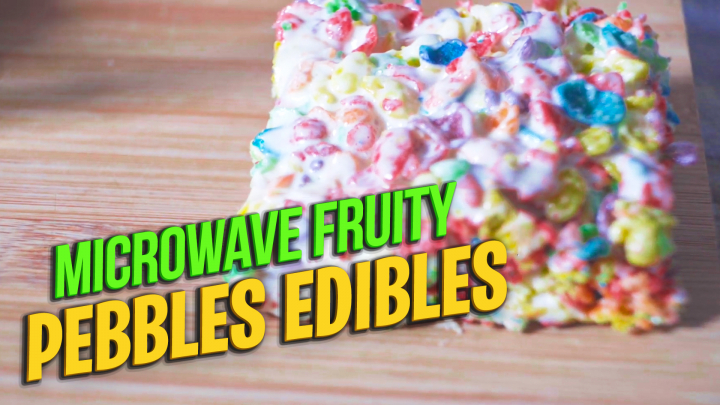 Weed Fruity Pebbles Edibles | How to make Weed Edibles in 2 minutes |