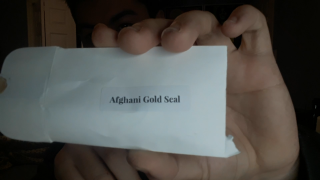 Afghani Gold Seal Hash
