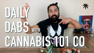 CHUCKIE FUEGO DAILY DABS WITH NEW ANNOUNCEMENT ABOUT BANGER UNBOXING VIDEO