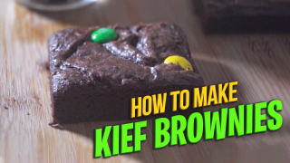 How to make Marijuana Brownies using Kief | Kief chocolate brownies