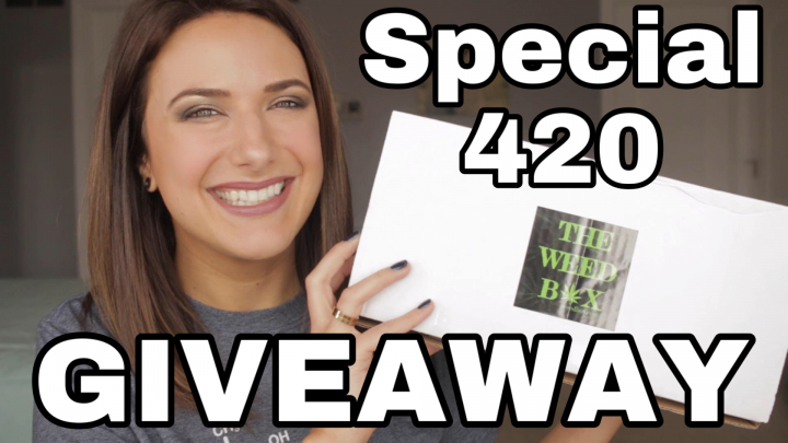 THE WEED BOX Festival Box 2020 + Special 420 Kick Off Giveaway!
