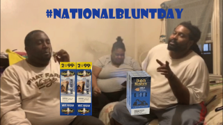 #NationalBluntDay with The B&B Crew