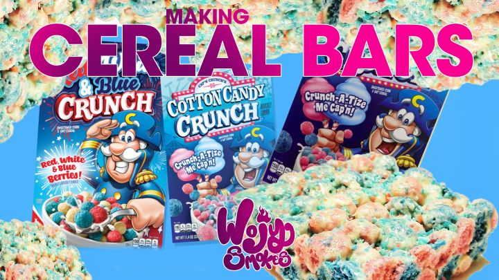 THC Cereal Bar Edibles! & Decarbing Weed without an Oven