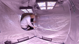 Grow Tent Mod: How To Stop Wall Sag ( TWTGC )