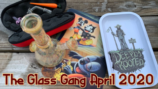 THE GLASS GANG | 4-20 BOX!! FIRST APRIL 2020 UNBOXING VIDEO!! HEADY GLASS!!
