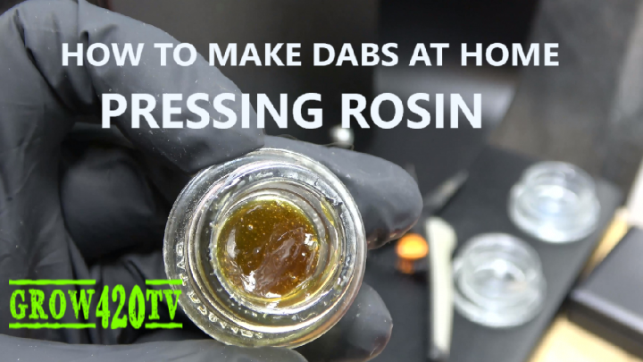 How to make dabs at home!!! Pressing Rosin!!!