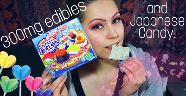 *~Eating Edibles and Making Japanese Candy!~*