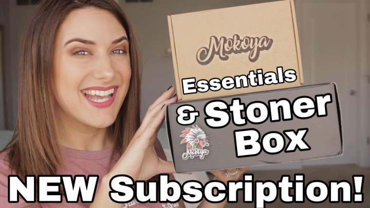 MOKOYA 420 DOUBLE UNBOXING - Essentials & Stoner Box for April 2020