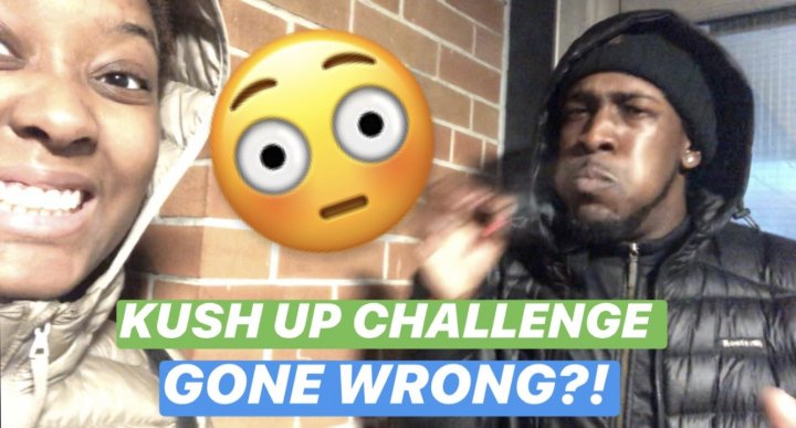 KUSH UP CHALLENGE GONE WRONG?!! || PuffPuffGyal