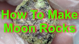 How To Make Moon Rocks, Cannabis Caviar or Marijuana Meteorites.