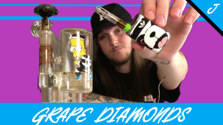 Grape Diamond's Flower/Live Resin Cart || FLMMJ
