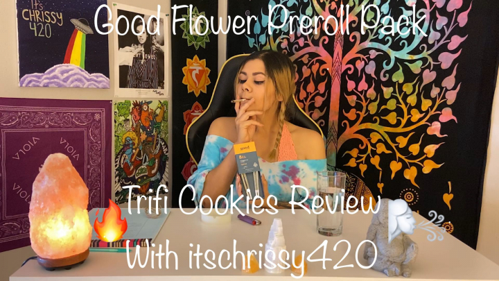 Trifi Cookies (Good Flower co) Preroll Review with itschrissy420