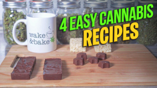 Learn how to make edibles | 4 easy cannabis recipes | Cannabis : Easy Recipes