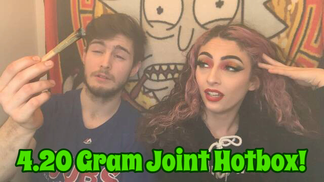 4.2 Gram Hotbox for 420 | KUSH UP CHALLENGE | Bakedbeauty420
