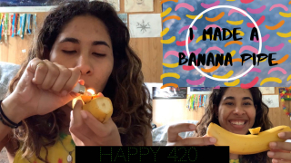 HOW TO MAKE A BANANA PIPE | Super Snoop