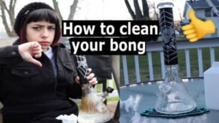 How To Clean Your Bong - Stoner Tips 2