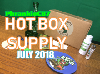 Hot Box Supply July 2018 Unboxing & Review