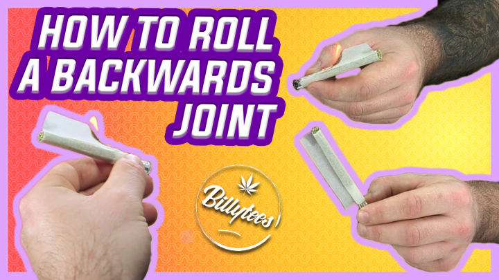 How to Easily Roll a Backwards Joint With Billytees!