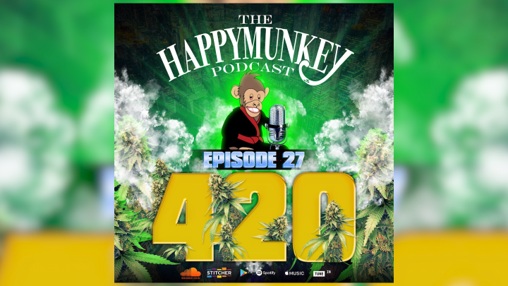 HappyMunkey Podcast Ep 27 420 Special: LiveLikeDavis, Sid Gupta of Pistil Point, Ben Leiner  (NORML)