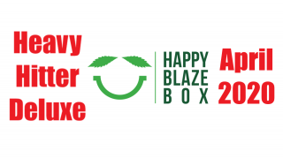 Happy Blaze Box Heavy Hitter Deluxe Bong Box April 2020