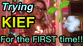Trying KIEF for the FIRST time!|Brittany Allison