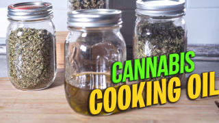 How to make Cannabis Cooking Oil - Cannabis Infused Olive Oil