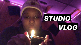 STUDIO VLOG: HOW MUCH CAN THESE GUYS SMOKE?!    PuffPuffGyal