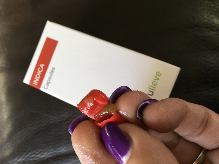 Trulieve Indica Capsules with MCT oil are great for my blood pressure