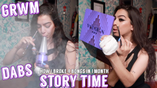 lit grwm + storytime: how i lost 4 PIECES in 1 MONTH | blunt_bae_