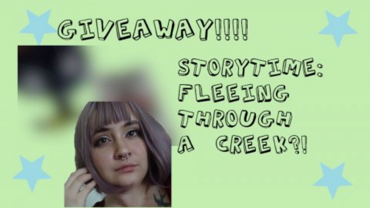 FLEEING THROUGH A CREEK?! + GIVEAWAY!!!(CLOSED)
