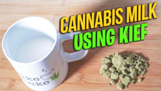 How to make Kief Milk | Cannabis-Infused Milk