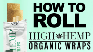 HOW TO ROLL HIGH HEMP WRAP | STEP BY STEP | SHAWTY SLIM