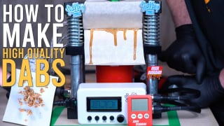 HOW I MAKE HIGH QUALITY DABS AT HOME | THE ULTIMATE HOME ROSIN PRESS