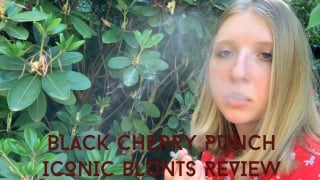 Black Cherry Punch Iconic Blunts Review