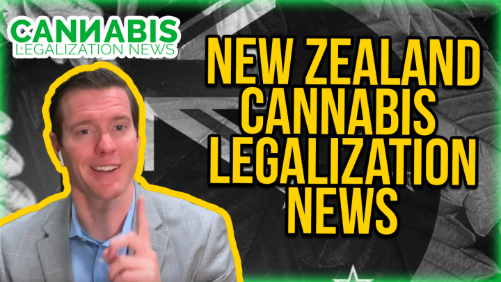 New Zealand Cannabis Legalization News - Adult Use Cannabis Law Ballot initiative.